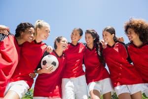 Women's college soccer team